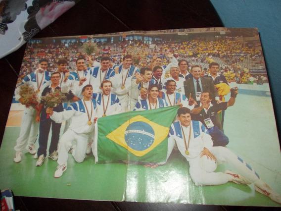 Poster Brasil Campeão Olímpico Barcelona 92