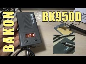 Estação De Solda Portatil Bakon 950d 50w Bivolt
