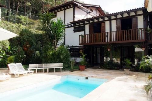Imagem 1 de 15 de Casa Em Fazenda Inglesa  -  Petrópolis - 1209