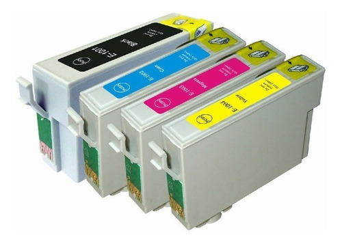 Cartuchos Para Epson 140 2/3/4 Colores Alternativos Nuevos