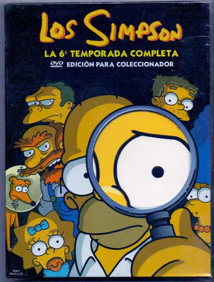 Box Dvd Os Simpsons - A 6º Temporada Completa - Novo***