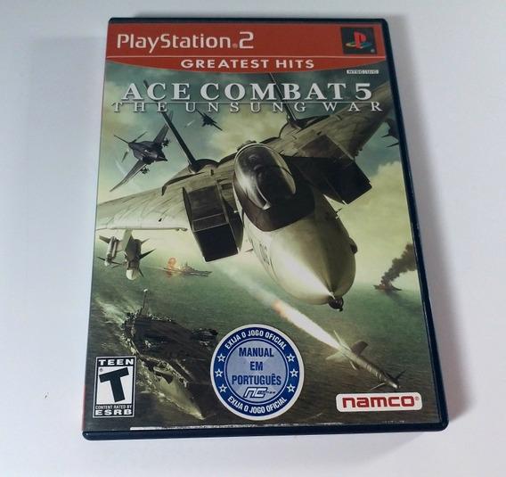 Jogo Ace Combat 5 Ps2 Original!