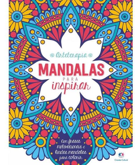 Livro Para Colorir Mandalas Para Inspirar 0908 29186