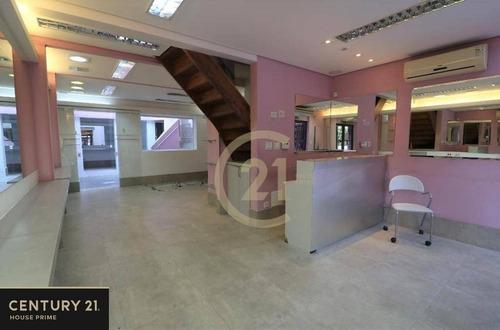 Sobrado Comercial Com 5 Salas Para Alugar, 125 M² Por R$ 6.000 - Higienópolis - São Paulo/sp - So2719
