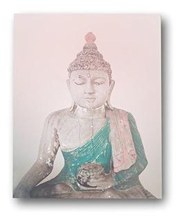 Rosa Buda 18 X 24 Decorativo Para Pared Zen Nursery Habitaci