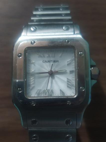 Reloj Santos De Cartier Galbee 1564 Grande Precio A Tratar