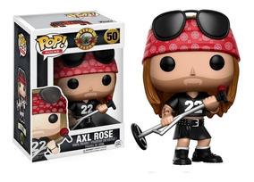 Funko Pop! Axl Rose 50 - Guns & Roses Muñeco Original