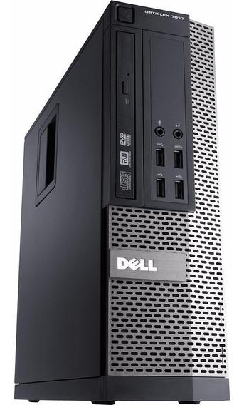 Cpu Dell 7010 Core I3 Hd 500gb 4gb + Teclado Mouse Sem Fio