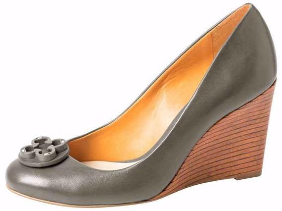 Zapato Mujer Cuero Taco De Madera 4010189 - Cuotas