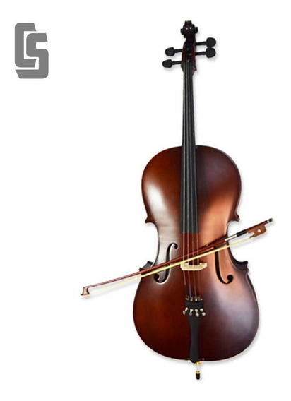 Cello 3/4 De Estudio Stradella Mc601134 (c/ Funda Y Arco)