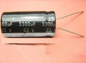 Capacitor Eletrolítico 3.300uf 63v *3300uf 105ºc Nichico