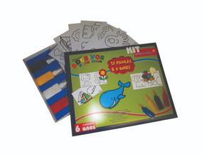 Meus Adesivos Plásticos Kit Educativo