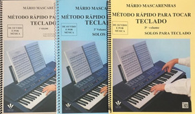 Rapido Para Teclado Vol 1,2,3 Mario Mascarenhas