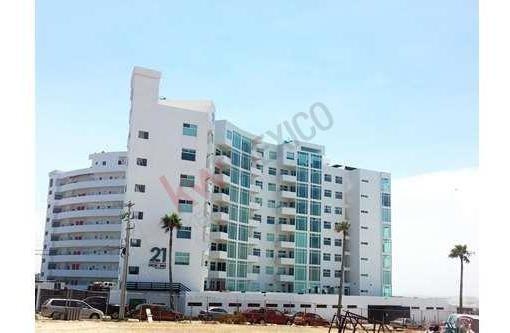 Lujoso Departamento Con Hermosa Vista Panorámica Al Mar Ubicado En Playas De Tijuana A Unos Pasos Del Mar