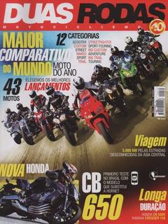 Duas Rodas N°470 Honda Cb Cbr 650f 500x Yamaha Crosser 150