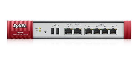 Firewall Zyxel Usg60-eu0102f Sem Vírus, Spam, Face, Xxx Full