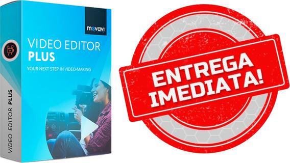 Editor De Vídeo - Movavi Plus, Versão 2020 Em Português