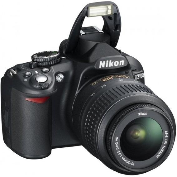 Câmera Nikon D3100 Semi Nova (mt Pouco Usada)