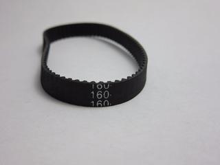 Banda Dentada Cerrada Gt2 160 Mm De Circunferencia , Ancho 6mm , Impresora 3d , Router Cnc , Correa Dentada