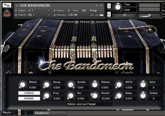 Sample Para Kontakt De Bandoneón - Che Bandoneón El Mejor