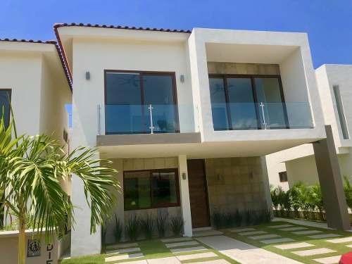 Casa Nueva En Flamingos Club Residencial, Bucerias- Mangos Tipo 1