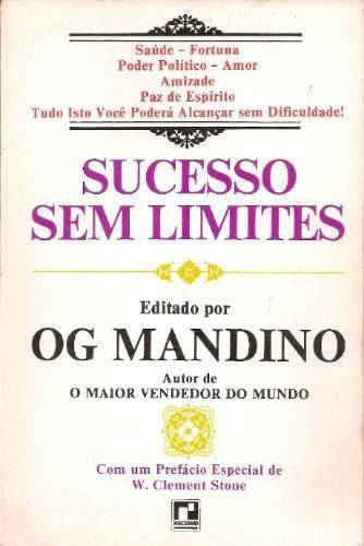 Livro Sucesso Sem Limites Og Mandino
