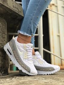 Tenis Nike Air Max Beige Ropa y Accesorios en Mercado