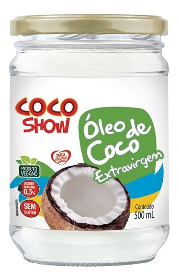 Óleo De Coco Extra Virgem 500 Ml Coco Show