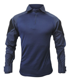 Camisa Combat T -shirt Tática Fb1075 Preto /marpat Airsoft