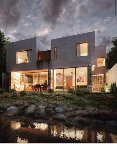 Moderna Casa En Preventa En Querétaro, El Encino Corregidora Con Vistas Al Lago