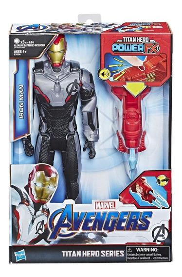 Figura Iron Man Endgame Power Fx