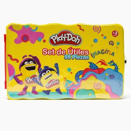 Set De Útiles 98 Piezas Play Doh - Hasbro