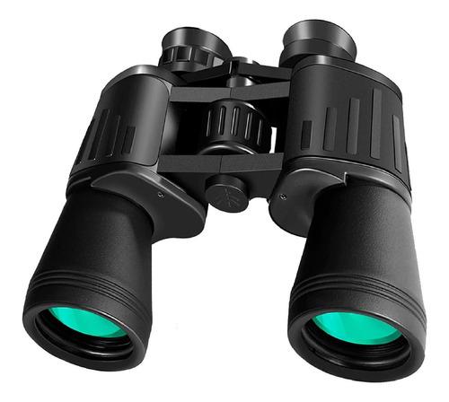 Binoculares Vak 20x50a Ahulados Agua Alcance 10 Km Protector
