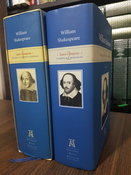 Teatro Completo William Shakespeare 2 Vols - Nova Aguilar
