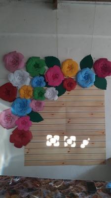 10 Flores De Papel