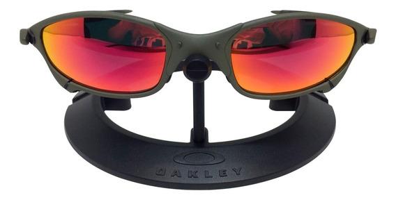 Lupa De Vilão Óculos De Sol Em Metal Todos Os Modelos/ Cores