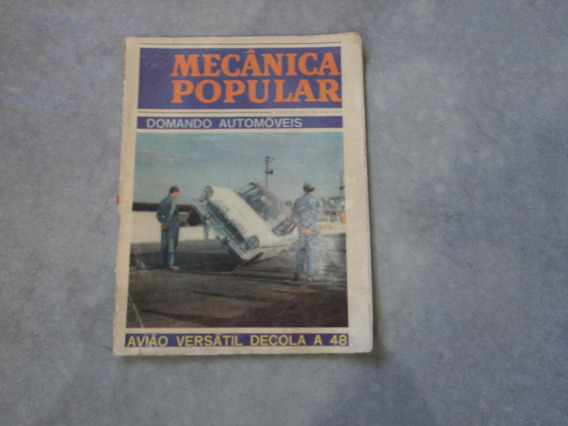 Revista Mecânica Popular Domando Automóveis 1964