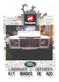 Grades De Aço Para Land Rover Defender