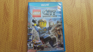 Lego City Under Cover Wii U Nuevo, Sellado