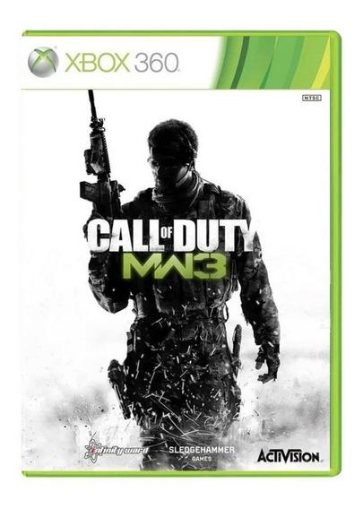 Call Of Duty Modern Warface 3 Xbox 360 Mídia Física