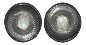 Alto-falante(speaker)fone D Ouvido 33,40 E 50mm-usado. Otimo