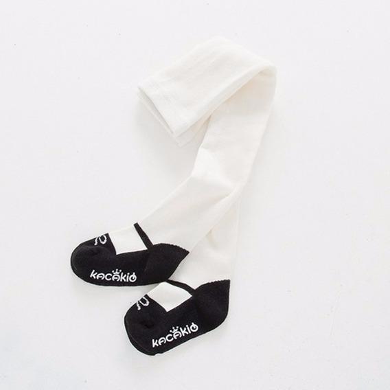 Mallas Para Niña Tejido Fino Invierno Zapato Frío