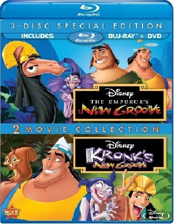 Las Locuras Del Emperador 1 Y Kronks 2 Bluray Y Dvd Disney