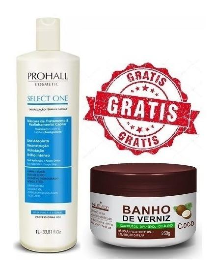 Tratamento Prohall Termoselagem 1 Litro +brinde Banho Verniz