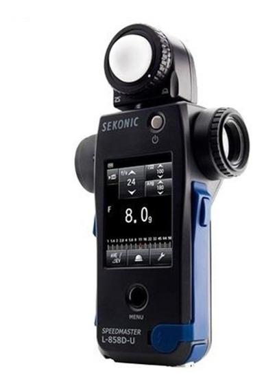 Fotômetro Sekonic L-858 D Speedmaster Light Meter