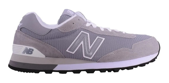 Zapatillas New Balance 515 Hombre - Gris Blanco