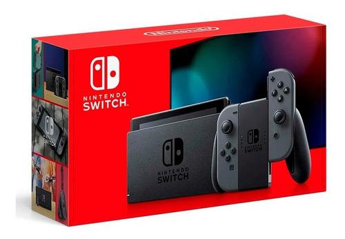 Console Video Game Nintendo Switch De 32 Gb Cinza Original