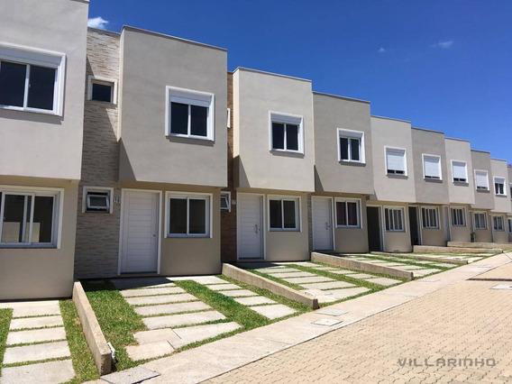Casa Com 2 Dormitórios À Venda, 64 M² Por R$ 255.000 - Vila Nova - Porto Alegre/rs - Ca0535