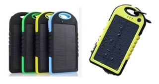 Power Bank Bateria Portatil Carga Solar 13,000 Mah Colores