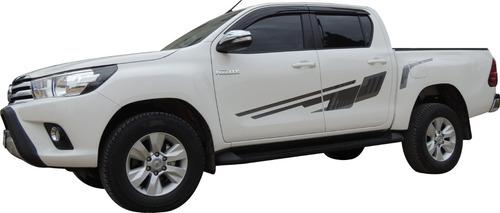 Calcos Laterales Hilux Toyota Srx Revo Srv 2016/7